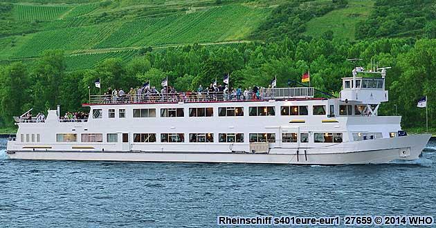 Rheinschifffahrt Rheinschiff s401eure-eur1